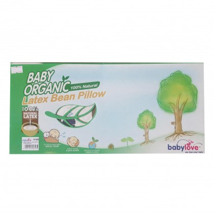 Baby Love Baby Organic Latex Bean Pillow