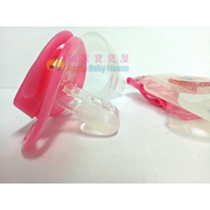 Cutebaby Big-And-Flat Head pacifier 6m+ (1pcs)