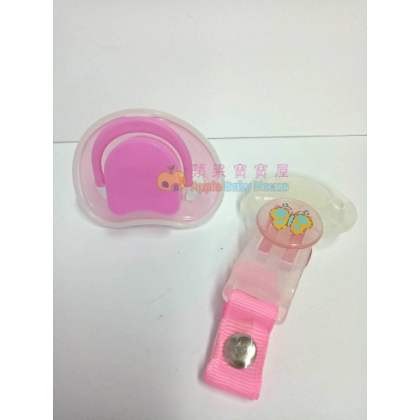 Cutebaby Small-And-Flat Head Pacifier 0m+ (1 pcs)