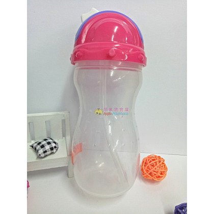 Cutebaby Portable Straw Bottle WIth Rope 8m+ (360ML)