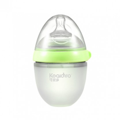 Keaiduo Extra Wide Mouth Silicone Bottle 0m+ 可爱多 (150ML)