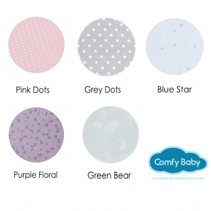 ComfyBaby Comfy Living Pillow Case S