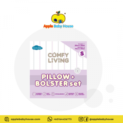 ComfyBaby Comfy Living Bolster & Pillow Set S