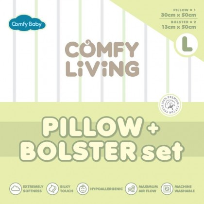 ComfyBaby Comfy Living Bolster & Pillow Set L