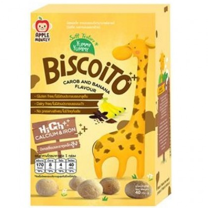 Apple Monkey Biscoito 40g (12m+)