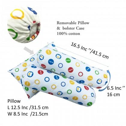 Puku 3pcs Bedding Set (Pillow & Bolster)