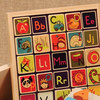 BToys Magnetic Alphabetic