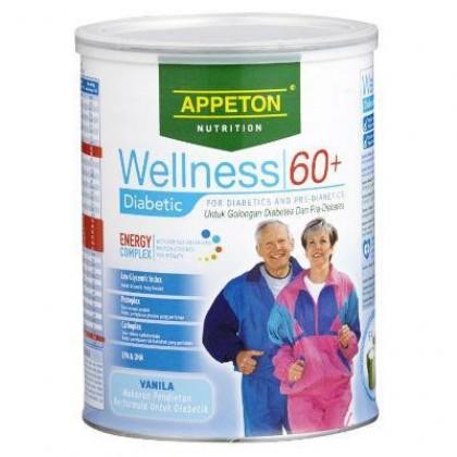 Appeton Wellness 60+ Diabetic 900g