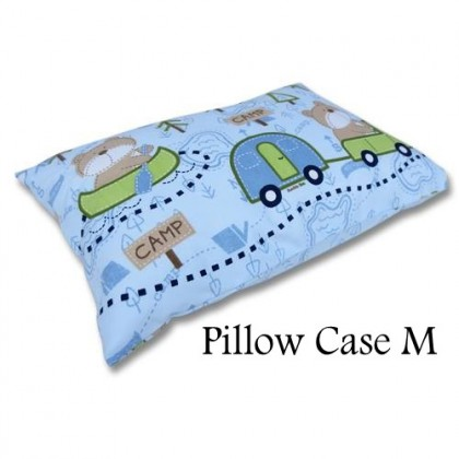 "Bumble Bee Pillow Case M (16"" x 12"")"