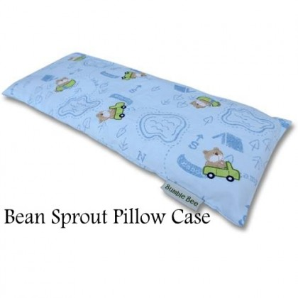 Bumble Bee Bean Sprout Pillow Case