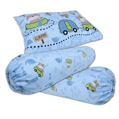 Bumble Bee Pillow & Bolster Set