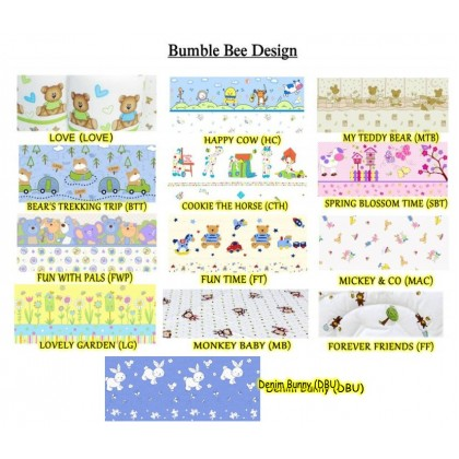 Bumble Bee Bolster Case L