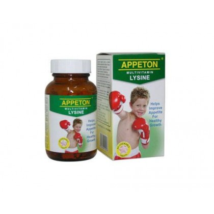 Appeton Multivitamin Lysine 60 tablets