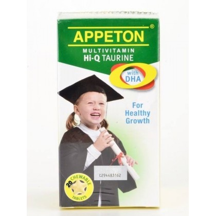 Appeton Multivitamin Hi-Q Taurin 20tablets