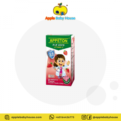 Appeton A-Z Vitamin-C 100s (For 2-6 years old) - Strawberry