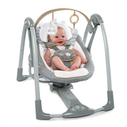 Ingenuity Boutique Collection Swing & Go Swing - Bella Teddy