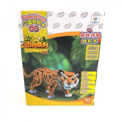 Bado Blocks Tiger 121pcs