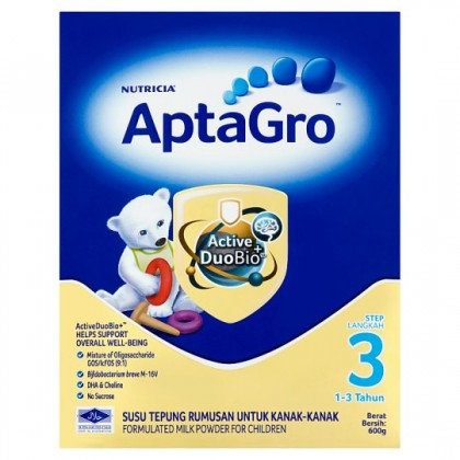 Aptagro Step 3 Formulated Milk Powder 600G