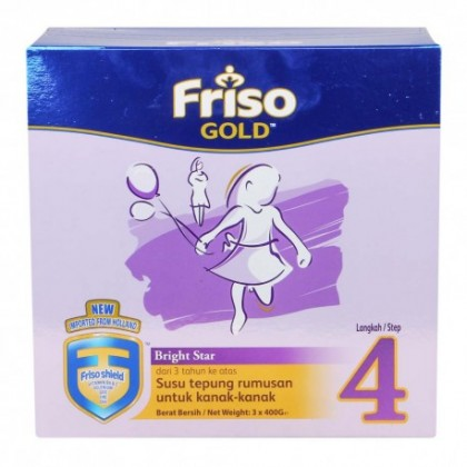 Friso Gold Step 4 1.2kg