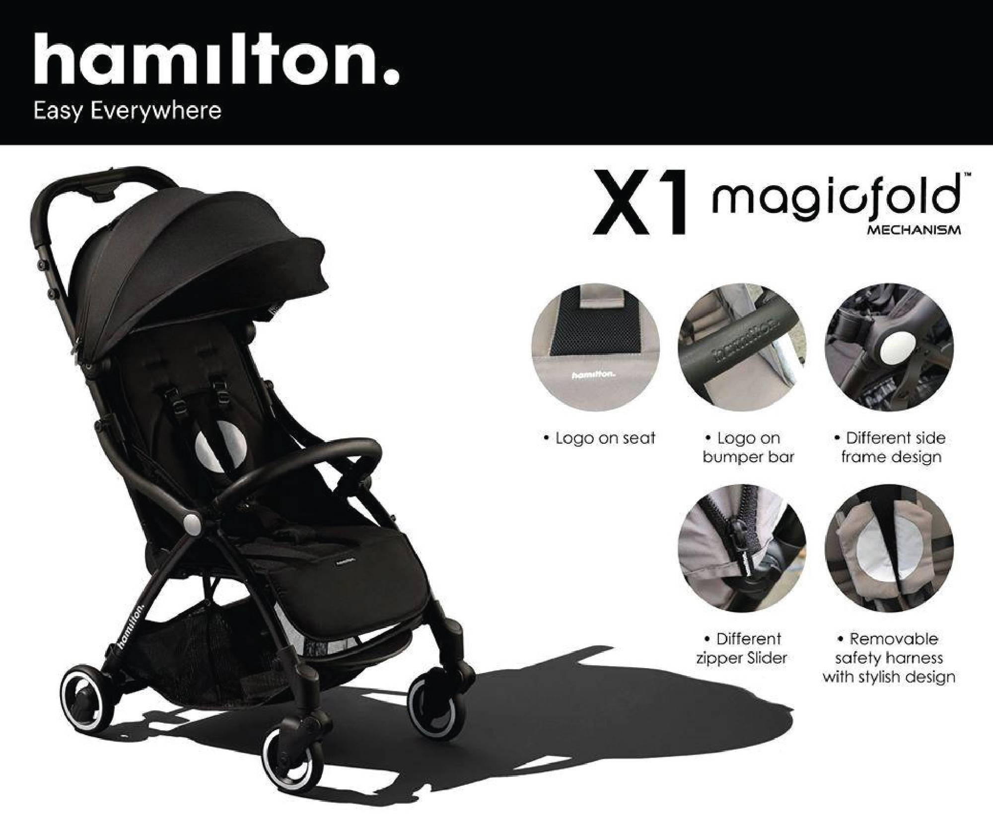 Hamilton Series X1 Stroller