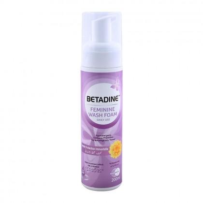 Betadine Feminine Wash Foam 200ml