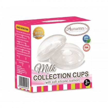 Autumnz Milk Collection Cups With Soft Silicon Cushion (2 pcs/Pack)