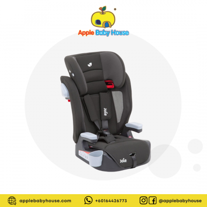 Joie Elevate Booster Car Seat - TWO TONE BLACK