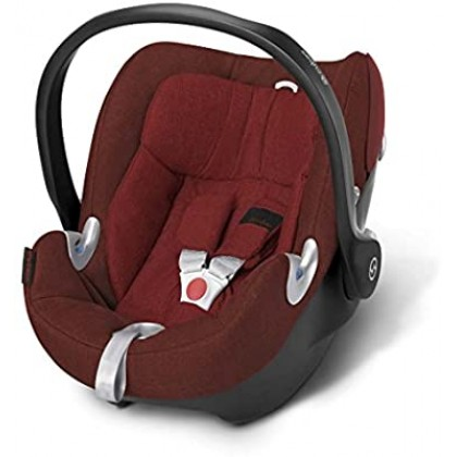 Cybex Aton Q Plus Mars Red Infant Carrier