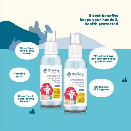 Au Fairy Instant Hand Sanitizer Spray 60ml
