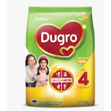Dugro Milk Formula Step 4 3-6T - MADU 850g