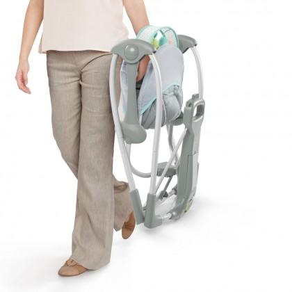 Ingenuity Swing N Go Portable Swing Hugs & Hoots