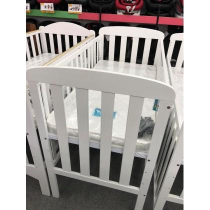 Baby Cot N315 White 24x48