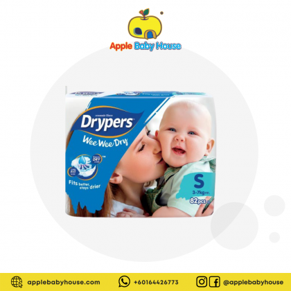 Drypers Wee Wee Dry Diapers TAPE