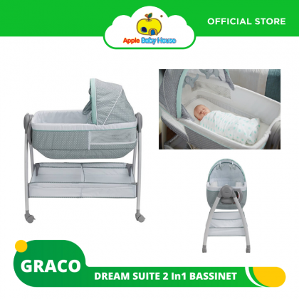 Graco Dream Suite 2 In1 Bassinet - LULLABY