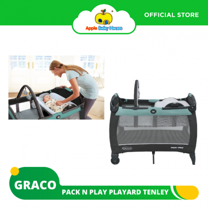 Graco Pack 'N Play Playard Reversible Napper & Changer LX Bassinet -Tenley