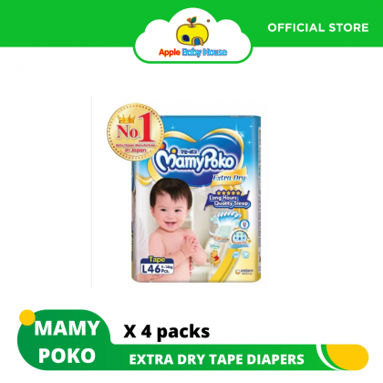 MamyPoko Extra Dry Skin Tape Diapers