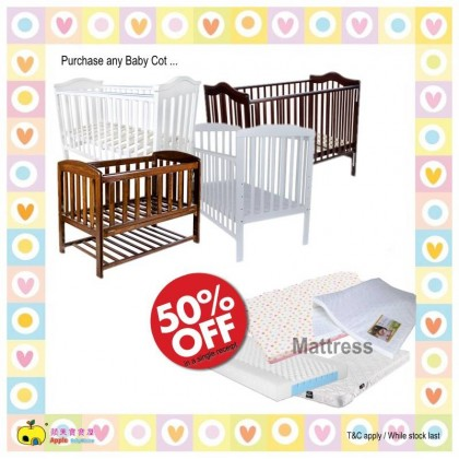 Baby Cot-Toddler Bed 70X130cm 624W