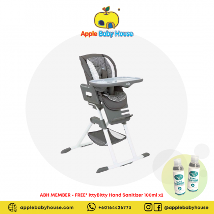 Joie Mimzy Spin 3-In-1 Highchair - Tile