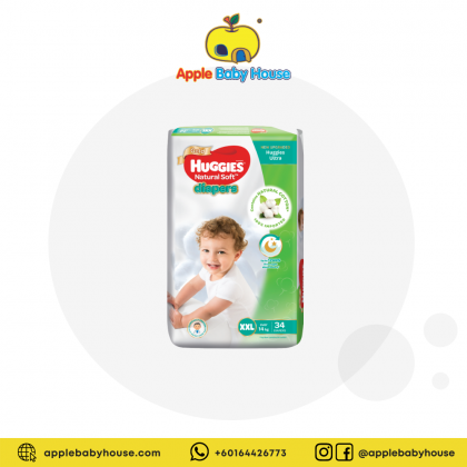 Huggies Ultra Natural Soft Diapers