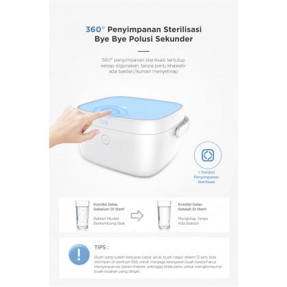 59s UVC LED Milk Bottle Sterilizing Box T5-BAT