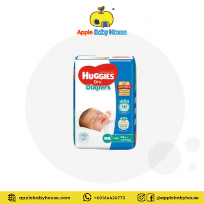 Huggies Dry Diapers NB64