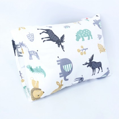 "Leafphant Baby Pillow XL 12"" x 16"""