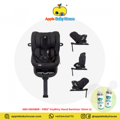 Joie I-Spin 360 Isofix Car Seat - COAL