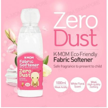 K-MOM Zero-Dust Fabric Softener(White Floral)