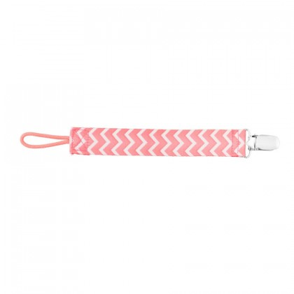 DR. BROWN'S PACIFIER CLIP, pink