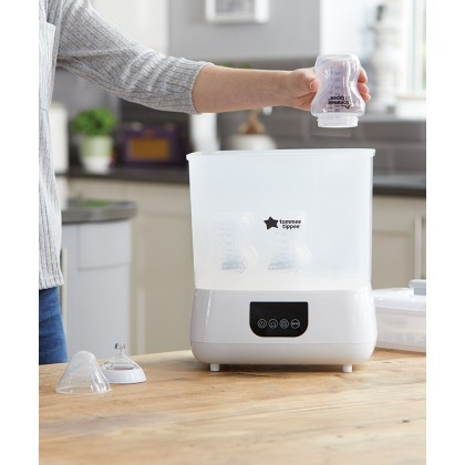 Tommee Tippee Electric Steam Steriliser and Dryer - BLACK