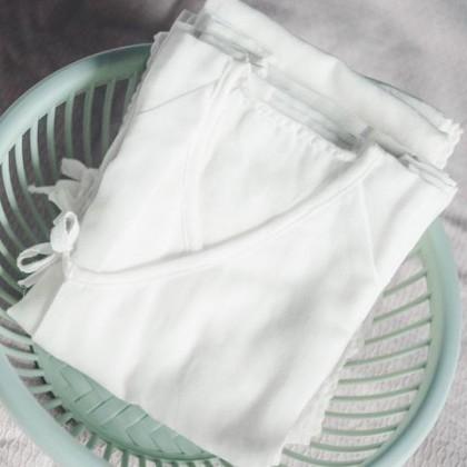 Suzuran Baby Gauze Short Undershirt 2pcs