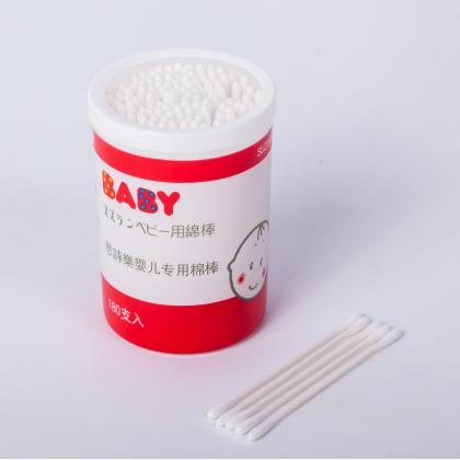 Suzuran Baby Antibacterial Cotton Swab 180pcs