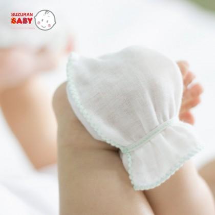 Suzuran Baby Gauze Glove 2pair