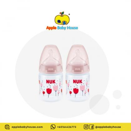 Nuk Premium Choice 0-6m Pink 150ml-Temperature Control-Twin